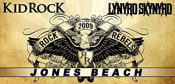 Kid Rock Lynyrd Skynyrd Jones Beach Rock and Rebels