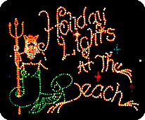 holiday lights spectacular 2015 - Jones Beach Christmas Light Show