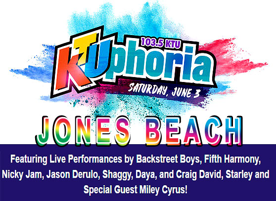 The Lineup For Its Annual Summer Dance Party Concert Event Ktuphoria 2017 On Saay June 3rd At 7p Et Northwell Health Jones Beach